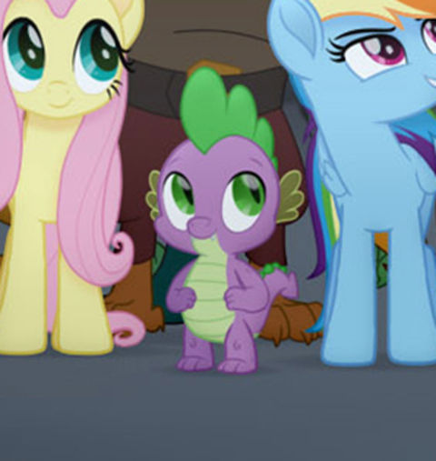 Spike from 'My Little Pony'
