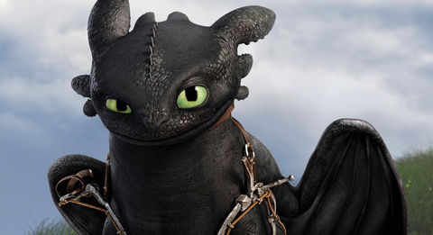 Toothless from 'How To Train Your Dragon'