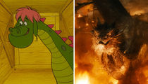 Hot Shots Of Famous Dragons -- It's Lit!
