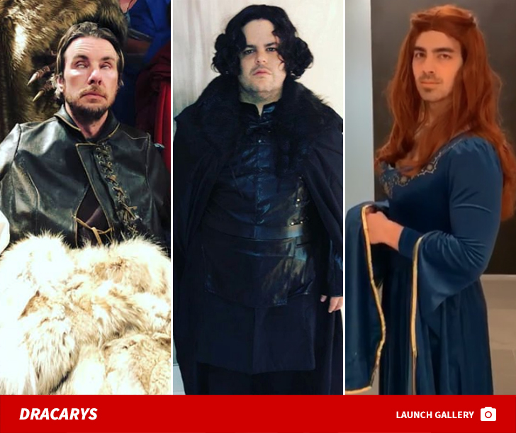 'Game Of Thrones' Celebrity Cosplay Fired Up Fans!