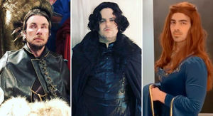 'Game Of Thrones' Celebrity Cosplay -- Fired Up Fans