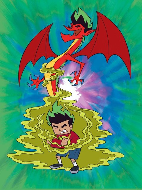 Jake Long from 'American Dragon: Jake Long'