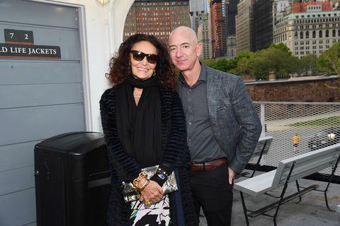 Diane von Furstenberg and Jeff Bezos