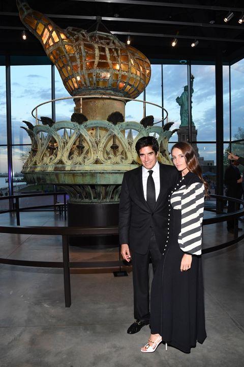 David Copperfield and Chloe Gosselin