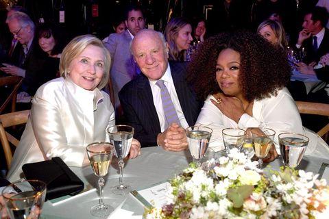 Hillary Clinton, Barry Diller and Oprah Winfrey