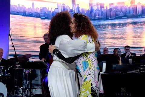 Oprah Winfrey and Diane von Furstenberg