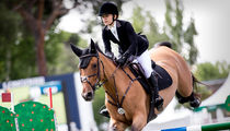 Mary-Kate Olsen Shows Off Equestrian Skills Competing in Spain