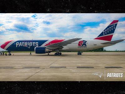 New England Patriots Team Plane Gets More Smug