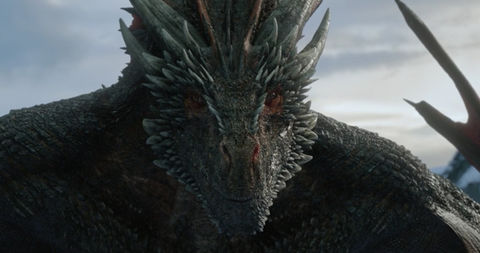 Drogon from 'Game Of Thrones'
