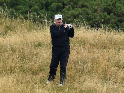 President Trump's Golf Score Hacked on Official Website