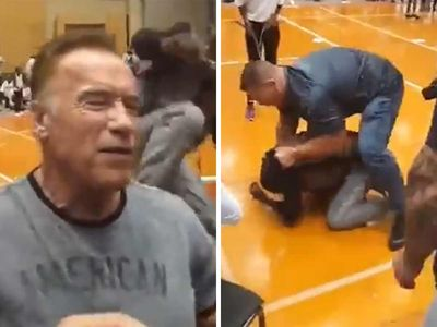 Arnold Schwarzenegger Not Pressing Charges Against Drop-Kick Attacker