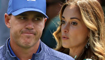 Brooks Koepka Snubs GF's Attempt to Kiss Him at PGA Championship