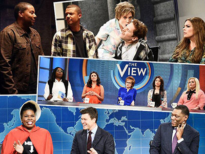 'SNL' Takes One Last Shot at 'The View' for the Season -- Plus, Paul Rudd Gets Assaulted