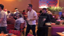 Anthony Weiner Chows Down on Mexican Food Days After Release
