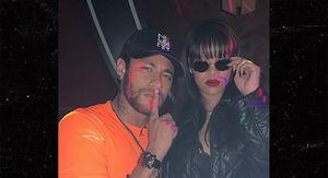 Neymar Blows Off Huge Award Ceremony to Hang with Rihanna