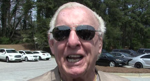 Ric Flair Pulls Out of Celebrity 'Roast,' Not Out of the Woods Yet