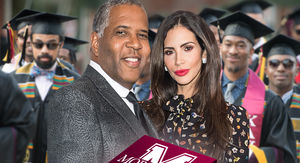 Robert F. Smith Inspires Jeweler to Gift Morehouse Grads $250k of Bling