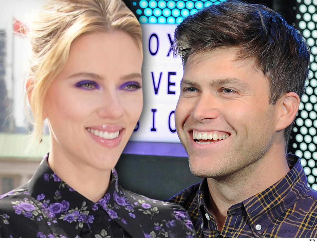 ScarJo & Colin Jost Engagement Party for 2 Last Week ... At Famous NY Restaurant
