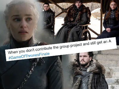 THAT'S How 'Thrones' Ended? Outrage & Memes BLOWING UP Twitter After Finale