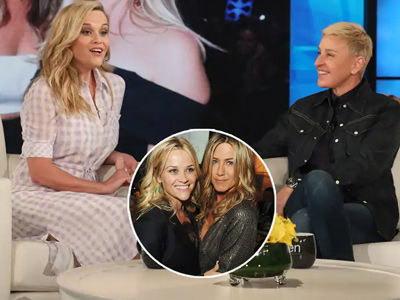 Ellen & Reese FIGHT Over Jennifer Aniston -- Call Her to Find Out Who's REALLY Her BFF!