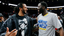 Colin Kaepernick Celebrated with Warriors After Sweeping Portland