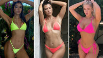 Bright Babes In Neon Swimsuits -- You Glow Girl!