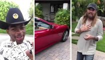 Lil Nas X Postmates 'Old Town Road' Partner Billy Ray Cyrus a Maserati