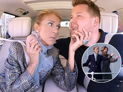 You Won't Believe Celine Dion's Carpool Karaoke Tribute to 'TITANIC'