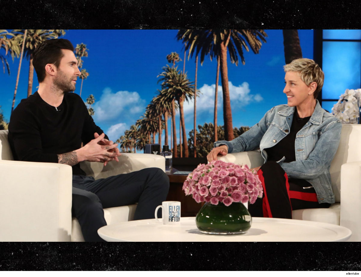 Ellen DeGeneres Snags Adam Levine's Pad for $45 MIL!!!