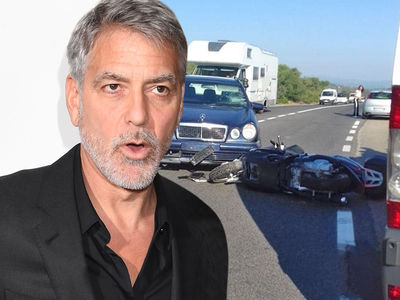 George Clooney Expected He'd Die in Italian Motorcycle Accident at 70 MPH