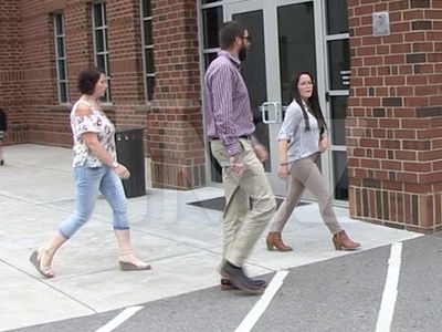 Jenelle Evans and David Eason Leave Without Kids After Tense Custody Fight