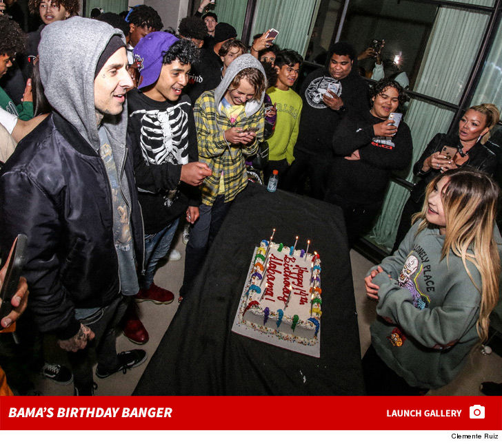 Travis Barker Throws Daughter Epic Birthday Bash ... Drops Over 6 Figures!!!