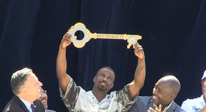 Jay Rock Keeps Winning, Receives Key to Watts, Los Angeles