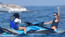 Kendall Jenner Jetskis with New Dude in Monaco, Sans Ben Simmons