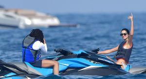 Kendall Jenner Jetskis with Luka Sabbat, Flipping Off Ben Simmons?