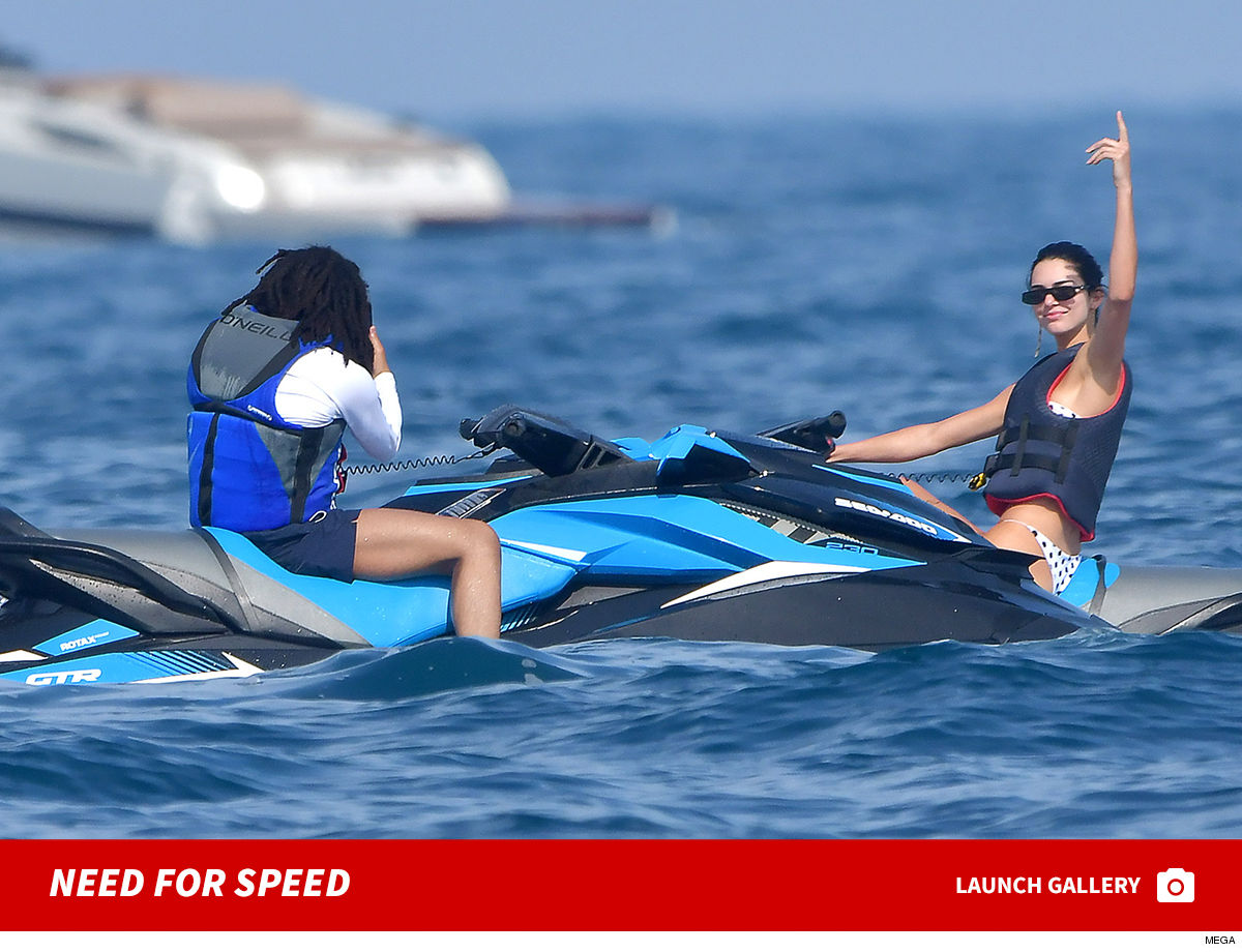 Kendall Jenner Bird's the Word in Moncaco ... I'm Riding w/ Luka Now!!!