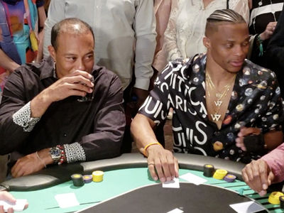 Tiger Woods Sponsors Charity Poker Tournament in Las Vegas