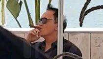 Quentin Tarantino Smokes Cigar Days After 'Snapping' at Cannes