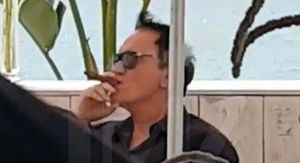 Quentin Tarantino Smokes a Cigar Days After 'Snapping' at Cannes