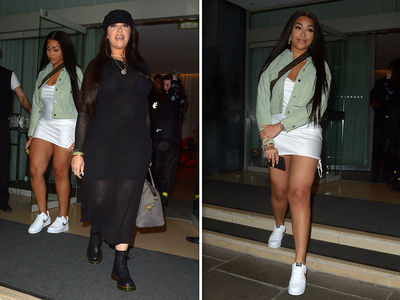 Jordyn Woods in London After Moving Junk Out of Kylie Jenner's Guesthouse