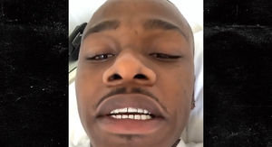 DaBaby Fires Warning Shot to Hecklers After Fan Beatdown in Mall