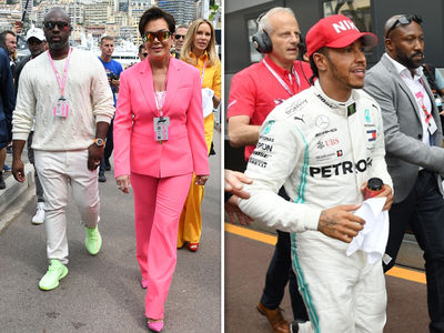 Celebs Show Up in Force for 77th Formula 1 Grand Prix of Monaco