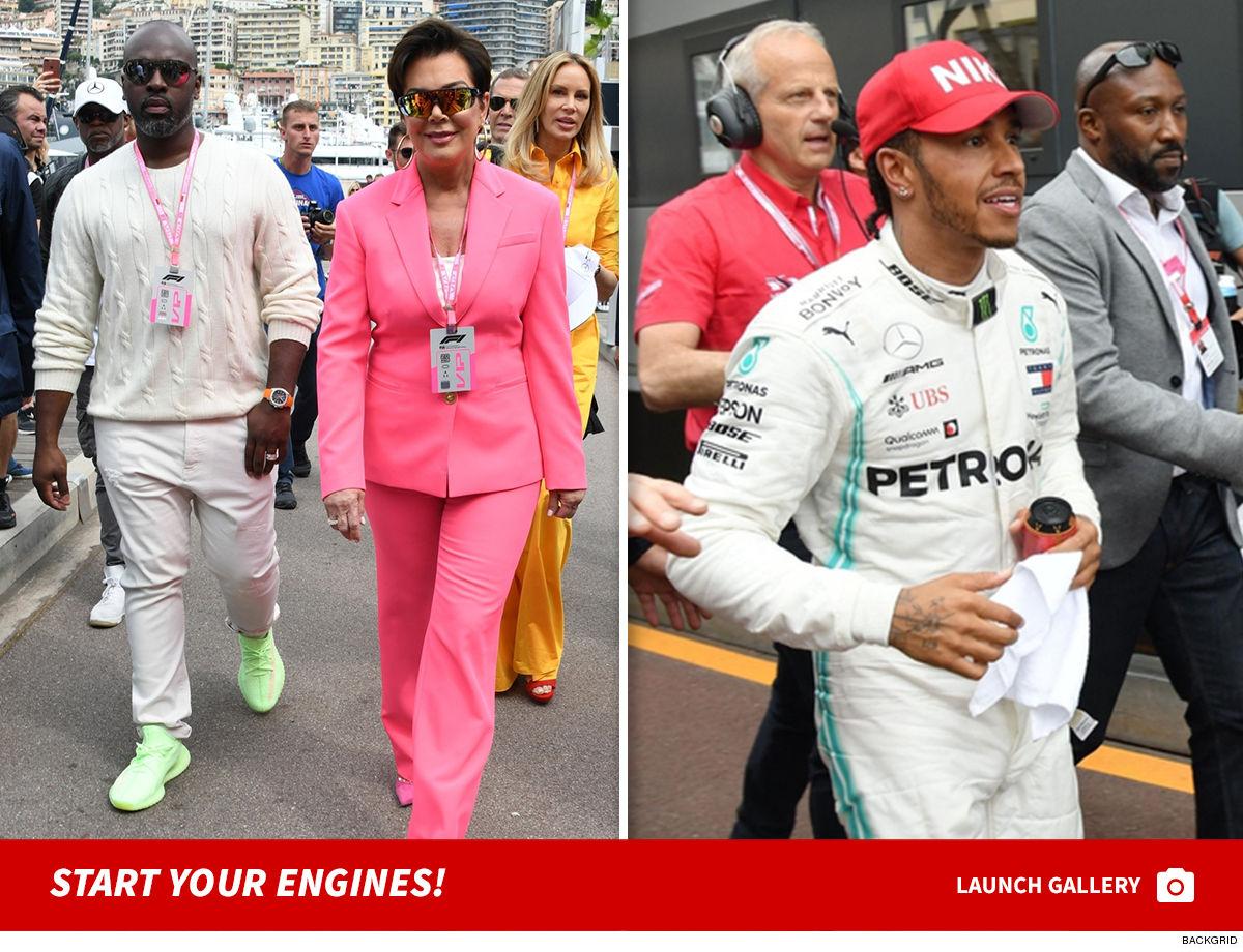 77th Formula 1 Grand Prix Celebs Descend on Monaco