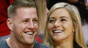 J.J. Watt Engaged to Girlfriend Kealia Ohai