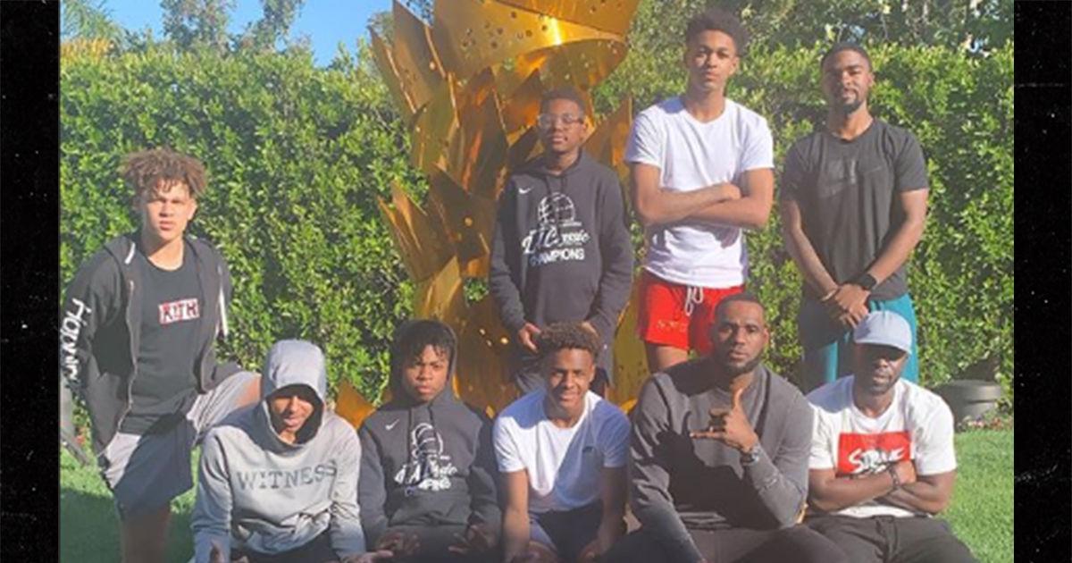 LeBron James Rocks Sick Unreleased Nike Fear Of God Shoes