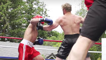 Logan Paul KOs Fake Ivan Drago in Impromptu Boxing Match, Calls Out KSI