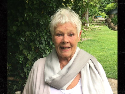 Dame Judi Dench Gives Fight Pump-Up Speech to Anthony Joshua