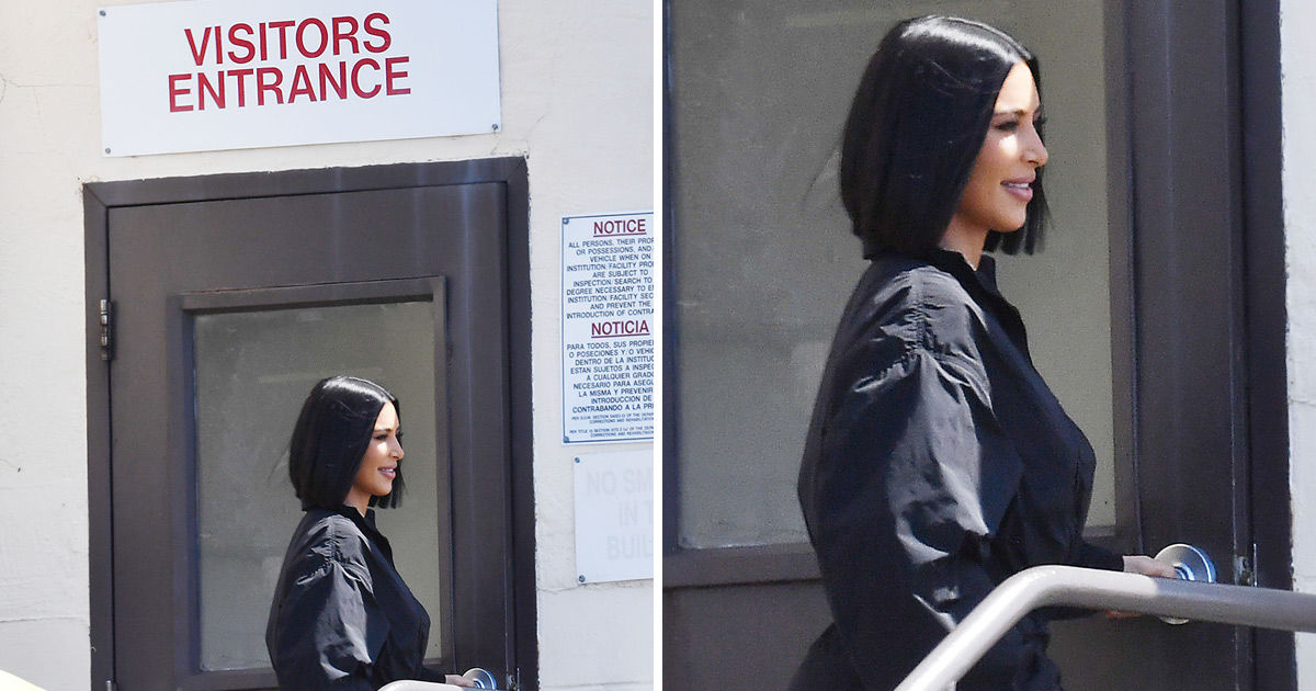 Image result for kim kardashian visits death row inmate