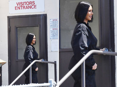 Kim Kardashian Spends Day At San Quentin's Death Row to Visit Kevin Cooper