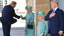 President Trump and Melania Visit Queen Elizabeth at Buckingham Palace
